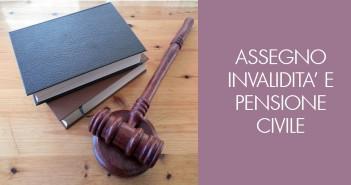 Assegno invalidità civile e pensione inabilità