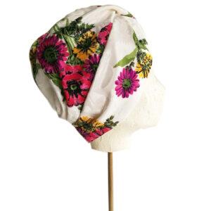 turbante bianca raso sine modus
