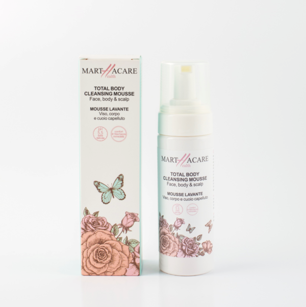 martha care mousse lavante