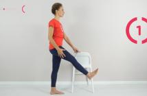 esempio di esercizi per gestire il linfedema della gamba