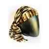 turbante con code animalier