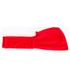 turbante tinta unita rosso