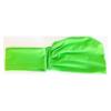 turbante tinta unita verde prato